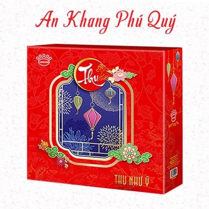 Hộp Bánh An Khang Phú Quý ( 3 bánh nướng, 1 bánh dẻo) (TẠM HẾT HÀNG)