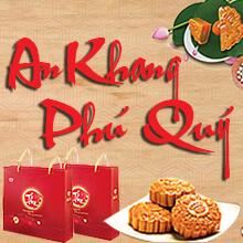 Hộp Bánh An Khang Phú Quý ( 3 bánh nướng, 1 bánh dẻo)