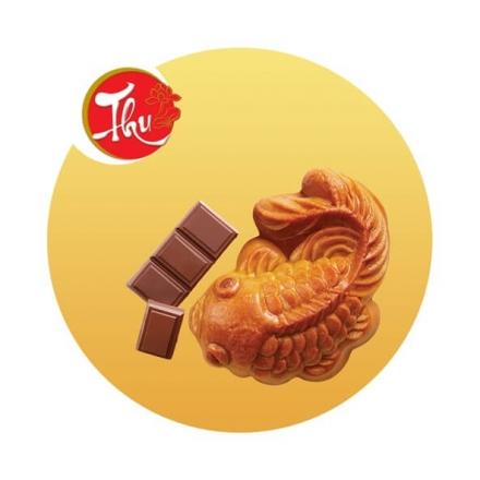 Bánh Cá Vàng Nhân Chocolate Sữa