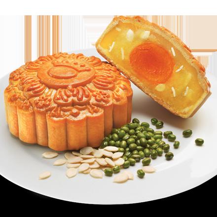 Bánh Nướng Đậu Xanh Hạt Dưa