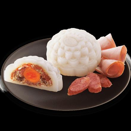 Bánh Dẻo Jambon Lạp Xưởng (1 trứng)
