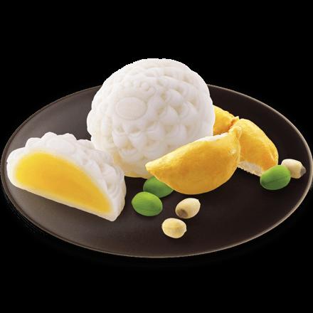 Bánh Dẻo Sầu Riêng Hạt Sen (0 trứng)