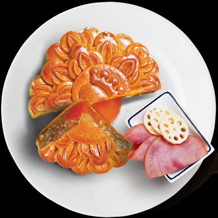 Bánh Nướng Gà Quay Jambon