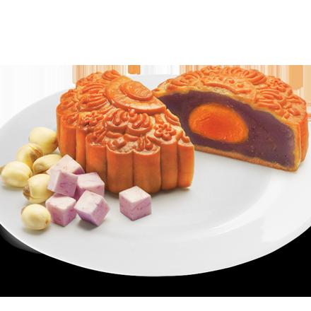 Bánh Nướng Khoai Môn Hạt Sen