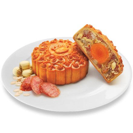 Bánh Nướng Jambon Xá Xíu