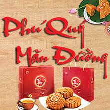 Hộp Bánh Phú Quý Mãn Đường (4 bánh nướng)