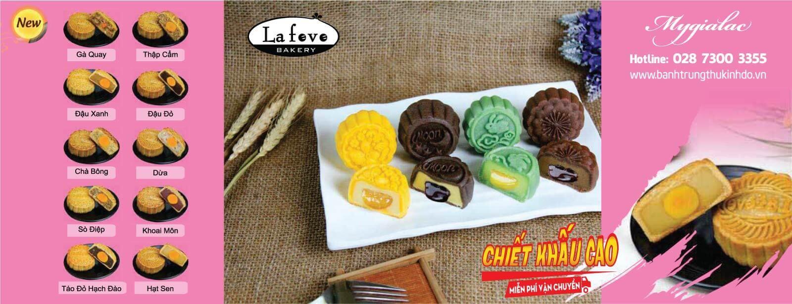 Bánh Trung Thu Lafeve 2018