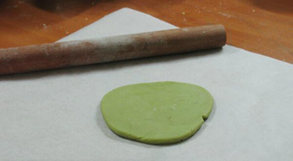Hướng dẫn cách làm bánh Trung Thu Trà Xanh 5