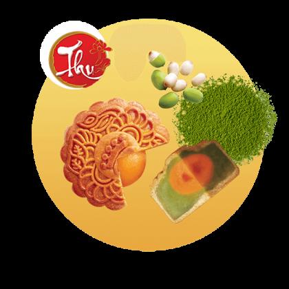 Hạt Sen Trà Xanh (1 trứng)