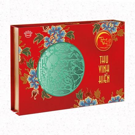 Bánh Trung Thu Cao Cấp Hoàng Kim Vinh Hiển (Đỏ)