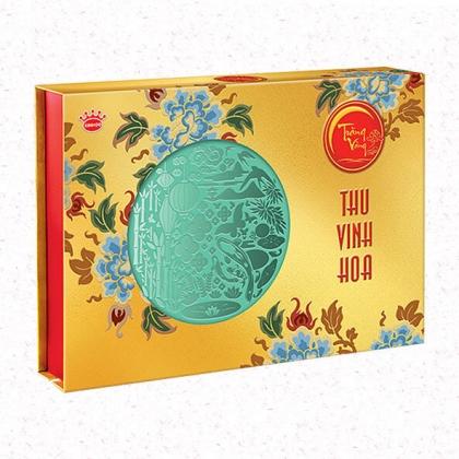 Bánh Trung Thu Cao Cấp Hoàng Kim Vinh Hoa (Vàng)