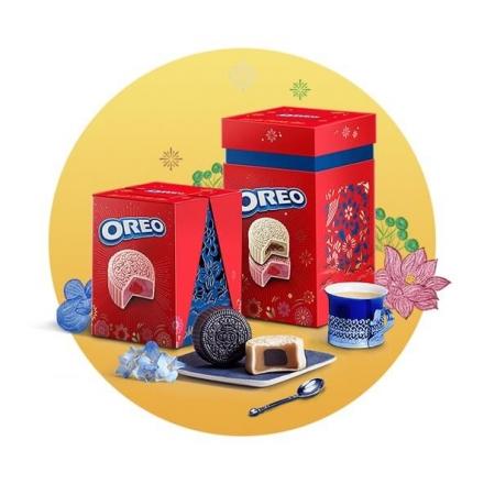 Bánh Trung Thu Oreo 4 Bánh