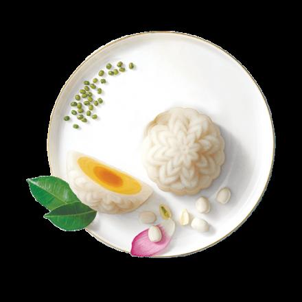 Dẻo Đậu Xanh Trứng Muối (1 Trứng)