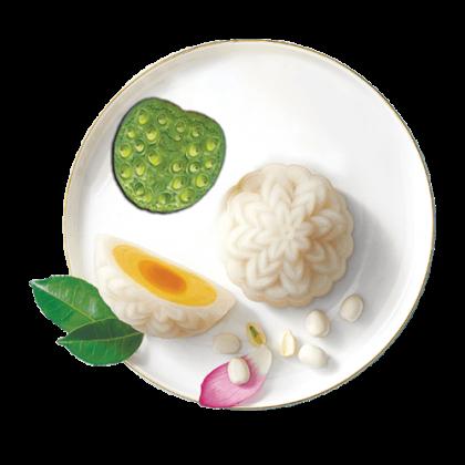 Dẻo Hạt Sen Trứng Muối ( 1 Trứng)